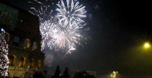 Нова година в Рим, Италия