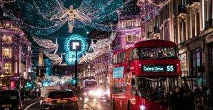 Лондон - коледно настроение