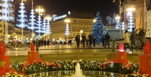 Коледа в Загреб