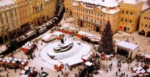 Прага - с аромат на Коледа