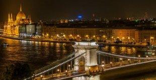 Светлините на Будапеща, със самолет и обслужване на български език